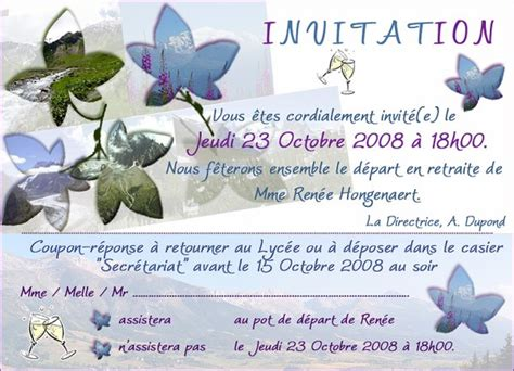 invitation pot de fin d 233 e vauban l ebook de mes cr 233 ations photoshop
