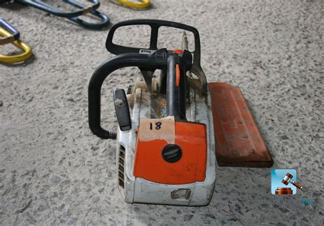 chainsaw stihl ms 192 t ref 18 for sale on clicpublic be