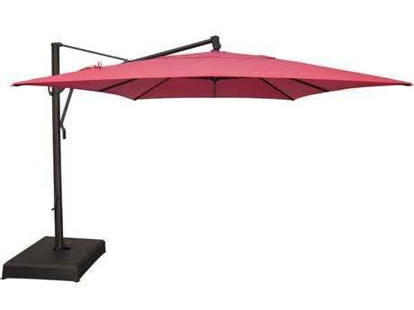 treasure garden cantilever aluminum 10 x 13 foot cantilever umbrella akzrt