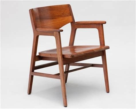 w h gunlocke co walnut chair 225 for the home