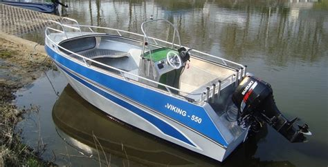 Aluminium Boot Viking 550 by Aluboot Viking 550 Boote Andrees Angelreisen Shop