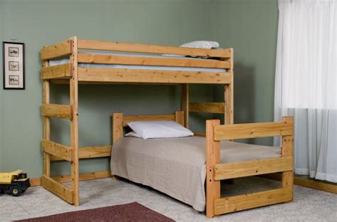 l shaped bunk bed plans bed plans diy blueprints