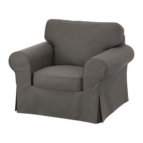ektorp housse de fauteuil nordvalla gris ikea