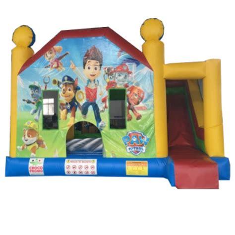 croco promo divertissement jeux gonflables combo et multi activit 233 s pat patrouille