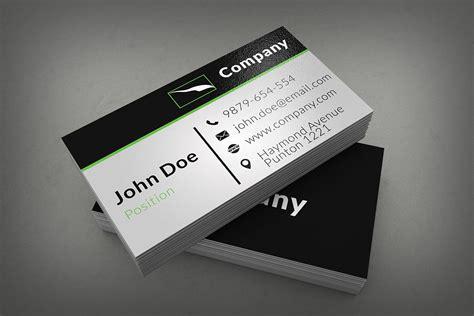 25+ Best Free Psd Business Card Templates