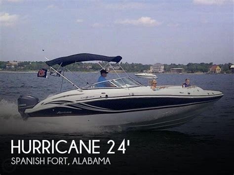 Boat Dealers Spanish Fort Al by Canceled Hurricane 2400 Sundeck Boat In Spanish Fort Al