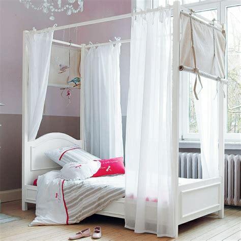 le lit baldaquin enfant comment faire la d 233 co pour la chambre archzine fr
