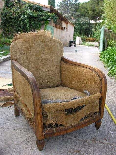 fauteuil club restauration d un vieux fauteuil un ptit coin chez