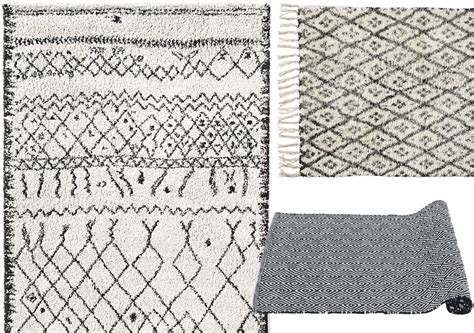 carrelage design 187 tapis noir et blanc pas cher moderne design pour carrelage de sol et