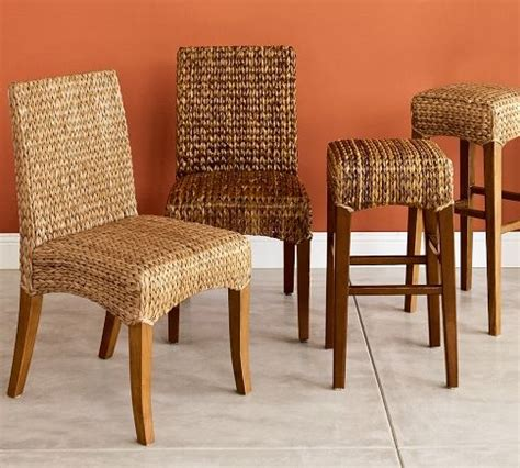 seagrass chair pottery barn dining room