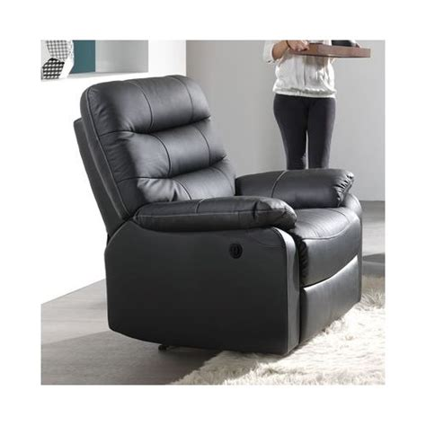 fauteuil relaxation 233 lectrique cameo cuir arrivages meubles soustons