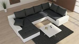 Schlafsofa U Form : couchgarnitur schlafsofa polsterecke sofagarnitur sofa future 2 als u form wohnlandschaft ~ Markanthonyermac.com Haus und Dekorationen