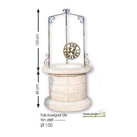 puits en reconstitu 233 e puits de jardin 100 cm auvergnat achat vente