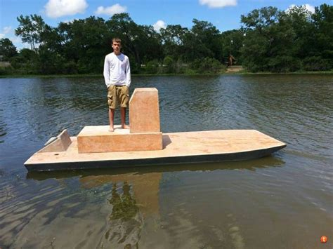 Homemade Fishing Boat 1000 images about one man boat idea on pinterest small