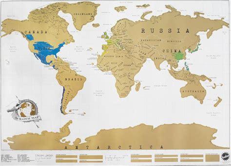 la carte du monde 224 gratter une carte du monde