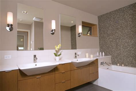 Cool Bathroom Sconce Lights The Long Tube Light Between How To Cover Basement Walls Floor Underlayment Options Inexpensive Flooring Ideas Stop Leaks Best Carpet For Clean Up Sewage Backup In Installing Electrical Outlets Finishing Your