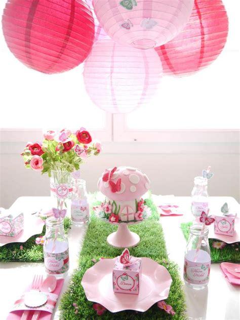 Kara's Party Ideas Pixie Fairy Pink Girl Birthday Party