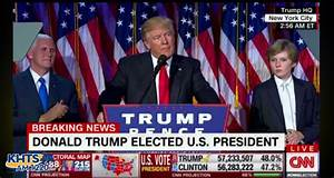 Hillary Clinton Concedes, Donald Trump Elected 45th President