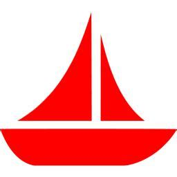Red Boat Clipart by Red Boat 10 Icon Free Red Boat Icons