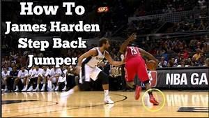James Harden Step Back Jumper Tutorial - Basketball Moves ...