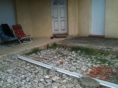terrasse beton avec joint de dilatation nos conseils