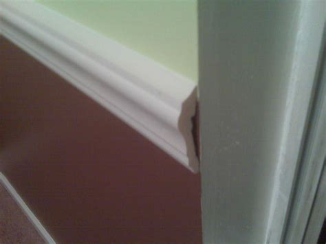 Finishing  How Do I Finish The Open End Of A Chair Rail