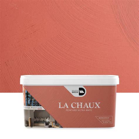 peinture 224 effet la chaux maison marocaine maison deco marrakech 2 5 l leroy merlin