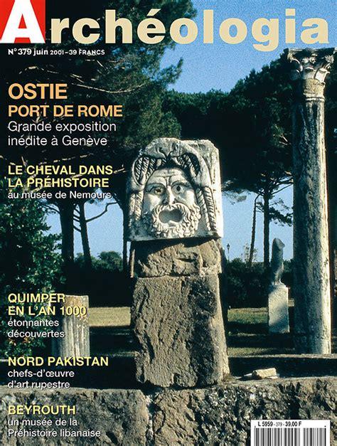 ostie port de la rome antique arch 233 ologia n 176 379