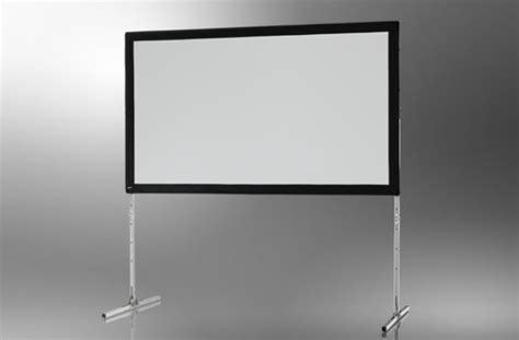 ecran de projection sur cadre celexon 171 mobil expert 187 203 x 127 cm projection par l arri 232 re