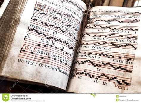 Old Church Hymnal-book Stock Photo. Image Of Liturgical