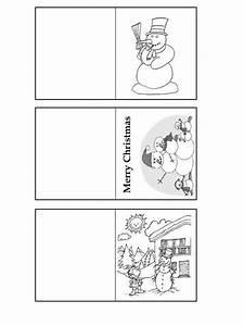 Geschenkkarten Zum Ausdrucken : schneemann geschenkkarten zum ausmalen ~ Markanthonyermac.com Haus und Dekorationen