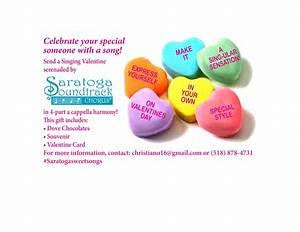 Singing Valentines | Saratoga Soundtrack