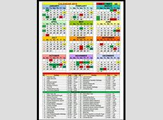 Calendar 2018 with Gazetted and Restricted Holidays NAPE
