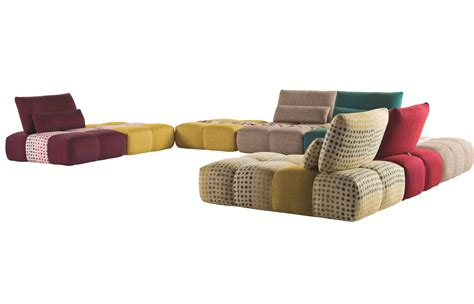 canap 233 composable en tissu parcours by roche bobois design sacha lakic