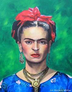 Frida Kahlo Kunstwerk : frida kahlo von stefanie huebner at k nstler kunst und kunstwerke ~ Markanthonyermac.com Haus und Dekorationen
