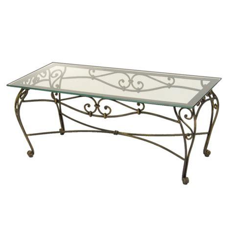 table basse vintage table basse en fer forge venice with table de cuisine en fer forg