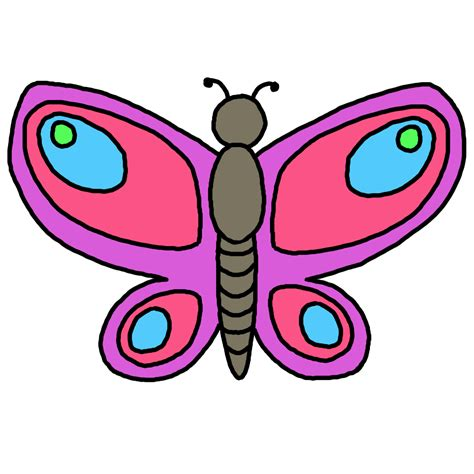 Butterfly Free Clipart  Clipart Library
