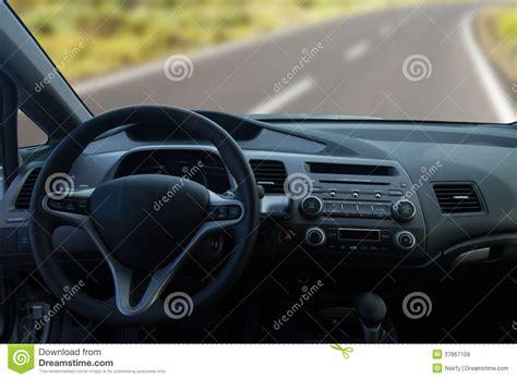 vue de l int 233 rieur d une voiture moderne images libres de droits image 37667109