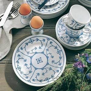 Geschirr Blau Weiß : kahla blau saks strohmuster im porzellantreff kaufen ~ Markanthonyermac.com Haus und Dekorationen