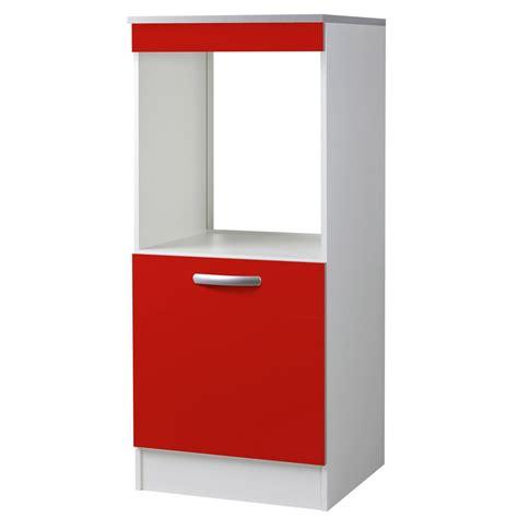 meuble de cuisine 1 2 colonne 1 porte h140 4x l60x p60cm leroy merlin