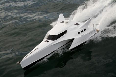 Trimaran English by 2010 Trimaran Wavepiercer Trimaran Power Boat For Sale