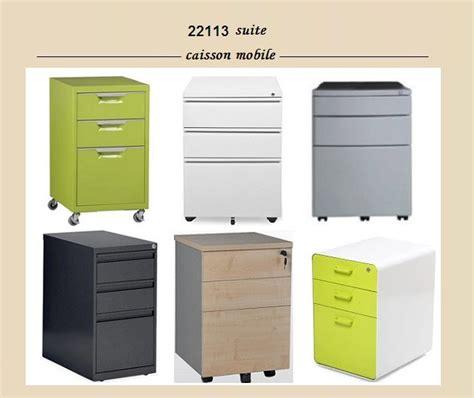 caisson 3 portes tiroir bureau conforama gris autres meubles en m 233 tal id de produit 500002359031