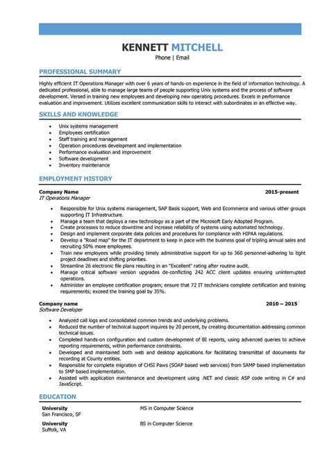 It Manager Resume Samples And Writing Guide [10+ Examples. Resume Samples For College Students With No Experience. Health Care Coordinator Resume. When Can You Resume Sex After Breast Augmentation. Paper Size Of Resume. Resume Other Skills. How To Get A Resume Layout On Microsoft Word. Graphic Designer Resume Skills. Wellness Coordinator Resume