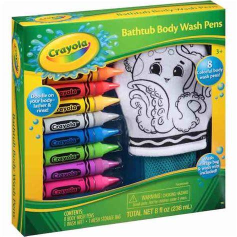 crayola bathtub crayons walmart make bath time again get this crayola bathtub
