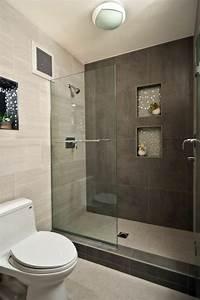 Kleines Bad Dusche : begehbare dusche kleines bad einrichten badezimmer waschbecken fliesen badeinrichtung ~ Markanthonyermac.com Haus und Dekorationen