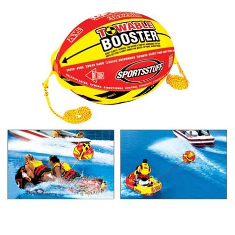 Boat Tow Rope Ball by Sportsstuff 4k Booster Ball With Tow Rope West Marine