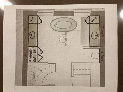 Master Bathroom Design Layout Ideas by Layout Master Bathroom Ideas