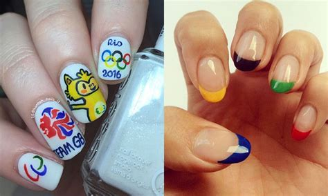 Olympics-inspired Nail Art Ahead Of The Rio Games
