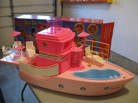 Buy Barbie Boat by Barbie Dream Boat Made In Mexico 1994 In Original Box With
