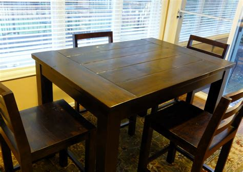 Ana White  Tryde Counterheight Kitchen Table  Diy Projects